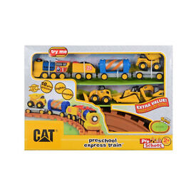 **REDUCED TO CLEAR** CAT preschool express train **NEW & UNOPENED**