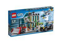 Lego city bulldozer break in