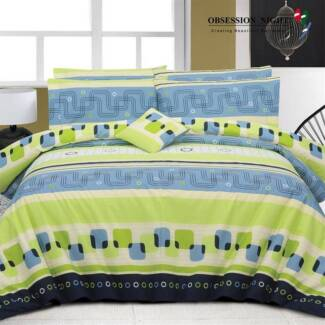 Obsession Night Queen Quilt / Donna Cover Set : Caitly RRP$129.95