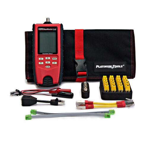 Platinum Tools T130K1 VDV MapMaster 3.0 Cable Tester Kit