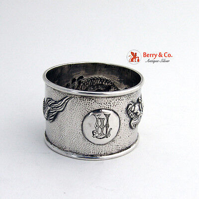 Dragon Chinese Export Sterling Silver 1920