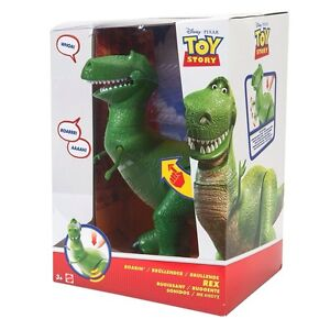 Toy Story 30cm Roaring Rex The Dinosaur Toy Figure Moves And Sounds