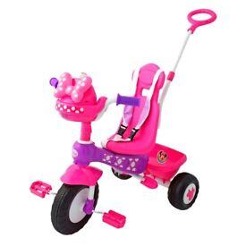 💕💕 Minnie Mouse 💕💕 trike bike EXCELLENT condition
