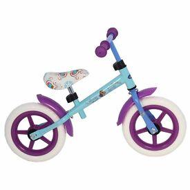 Frozen kids balance bike as new condition