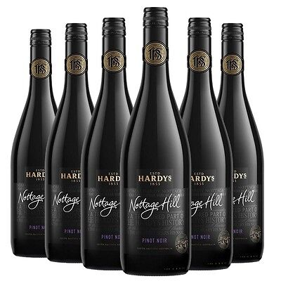 Hardy's Nottage Hill Pinot Noir 2015 (6 x 750mL) SEA