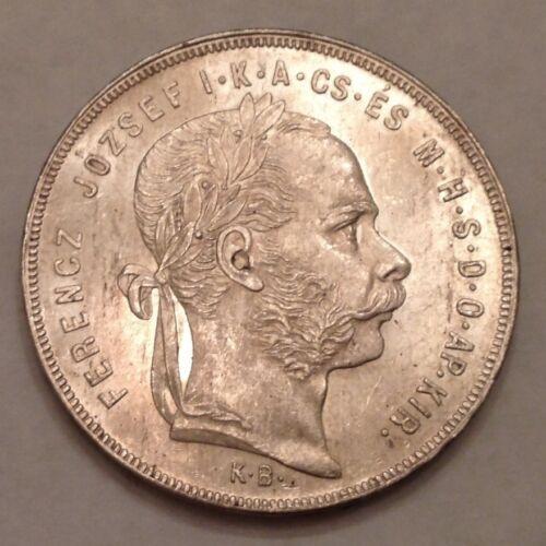 - 1879  Hungary Franz Joseph One Forint