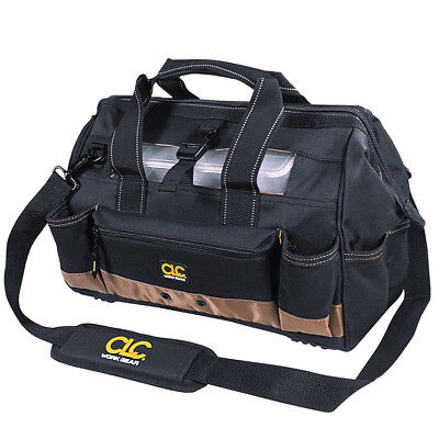 """Top Side Tool Tray (CLC Work Gear 1534 16"""" Tool Bag with 25 Pockets and Top Side Plastic Parts Tray )"""