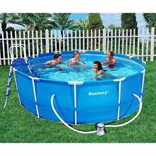 Bestway 12ft Steel Pro™ Frame Pool 3.66 x (Deep) 1m. RRP $600 Dianella Stirling Area Preview