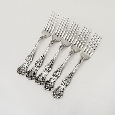 Queens Dinner Forks Set Birks Sterling Silver Canada No Mono