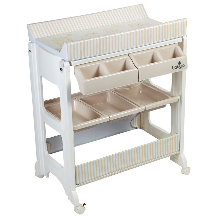 Gentil Babylo Mobile Changing Table / Unit With Bath And Storage RRP 70