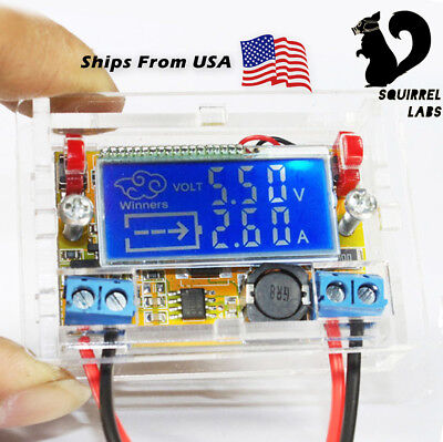 Dc-dc Adjustable Step-down Regulated Power Supply Charge Module 16.5v 3a Case
