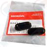 Honda License Plate Bumper Caps Plugs Civic D Sol Integra Granada Black Pearl YK