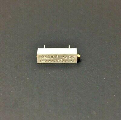 Beck 89pr500 500 Ohm 0.75w Multi-turn Cermet Trimmer Potentiometer