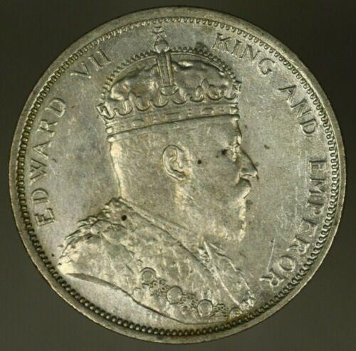 Straits Settlements Silver Dollar 1904-B  AU  A1507