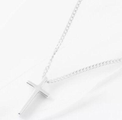 Kette, Halskette, Anhänger, 925 Silber, Kreuz(10mm), Filigran, NEU