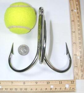 Bridge gaff pier gaff 16 0 stainless steel welded hook for Fishing gaffs for sale