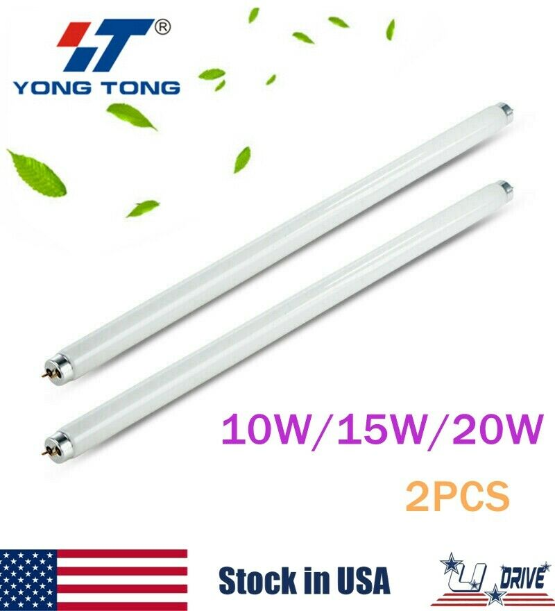 2X10W15W20W Replacement Bulb UV Tube Lamp Light For Mosquito Killer Bug Zapper