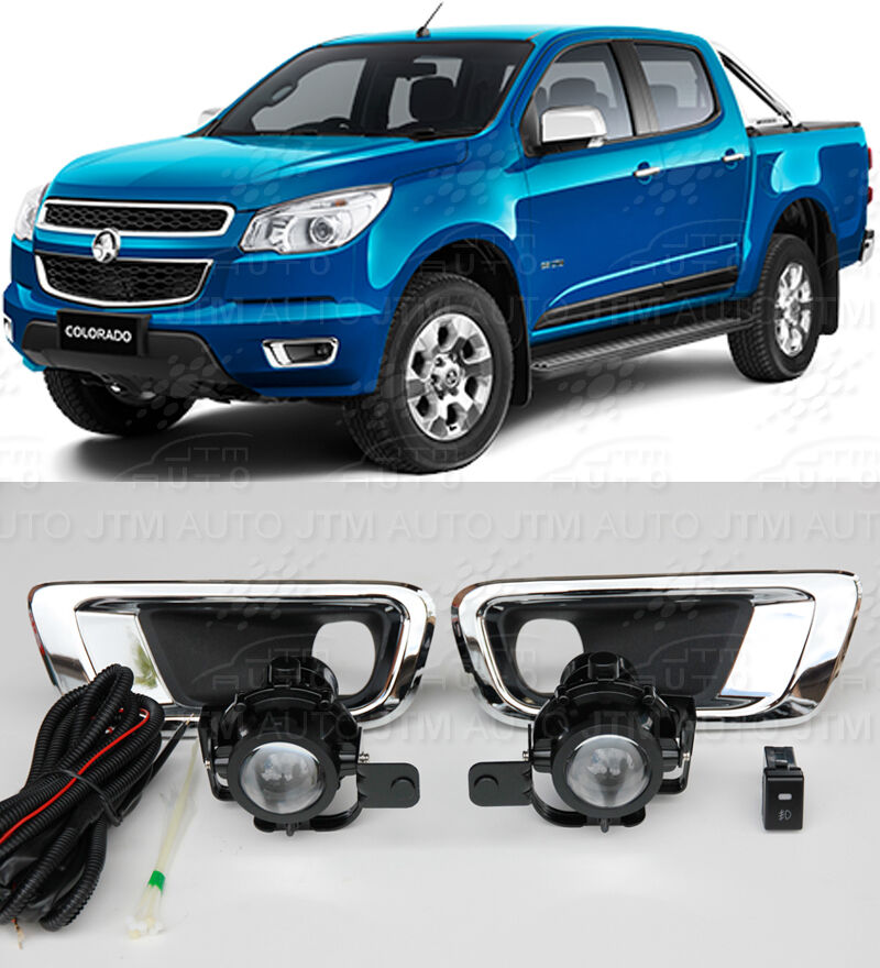 Driving/ Fog Lights Lamps Complete Kit Suits Holden Colorado 2012-2016