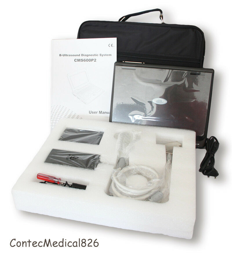 NEW PORTABLE LAPTOP MACHINE DIGITAL ULTRASOUND SCANNER, 3.5 CONVEX PROBE,USA FEDEX