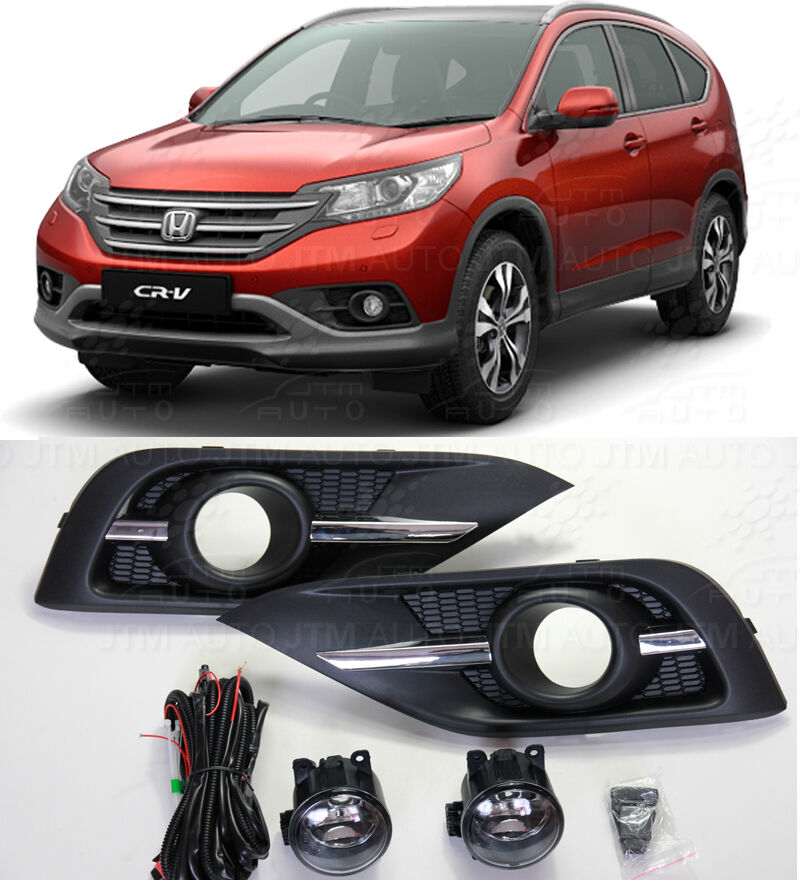 Honda CRV Driving/ Fog Lights Lamps Complete Kit 2012-2014