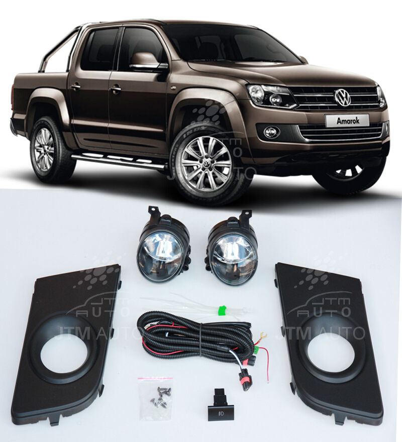 Suits VOLKSWAGEN VW Amarok 2011-2017 Driving/ Fog Lights Lamps Complete Kit