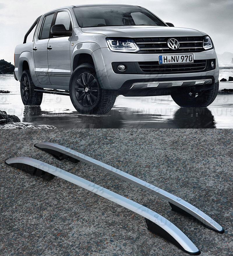 Aluminium roof racks roof rails Suits Volkswagen VW Amarok Dual Cab 2010-2019