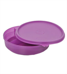 tupperware kids divided lunch plate lunch box specially for kids new. Black Bedroom Furniture Sets. Home Design Ideas