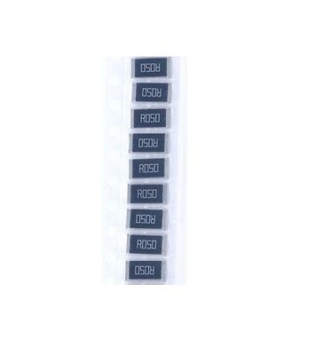 50 Pcs New 2512 Smd Resistor 1w 0.05 Ohm 0.05r R050 1 2512 Chip Resistor