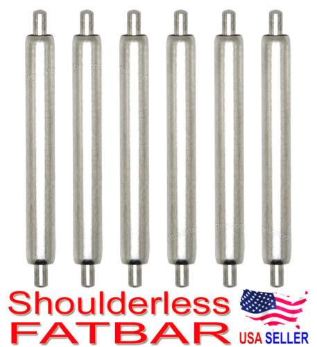 20mm Shoulderless FATBAR Spring Bar 1.2mm Tip End for Seiko Pierced Lug Diver