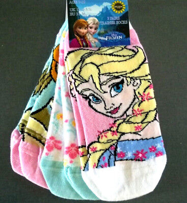 Die Eiskönigin Socken Strümpfe Mädchen 23-34 Söckchen Frozen Kinder Elsa Anna