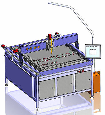 +++DIY+++CNC Bauplan Plasmaschneider Plasma table plans Plasmaschneidanlage