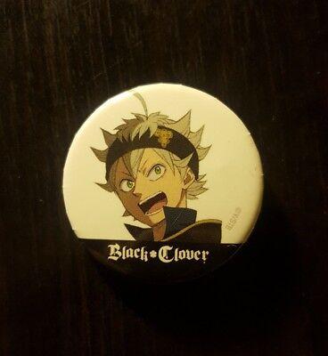 **Legit** Black Clover Anime Asta /& Black Bull Logo Badge Holder Lanyard #38140