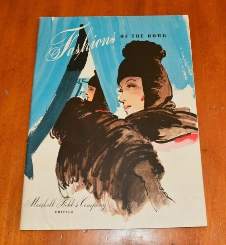 Marshall Field and Co Fashions of-the-Hour 1941 Fall Catalog