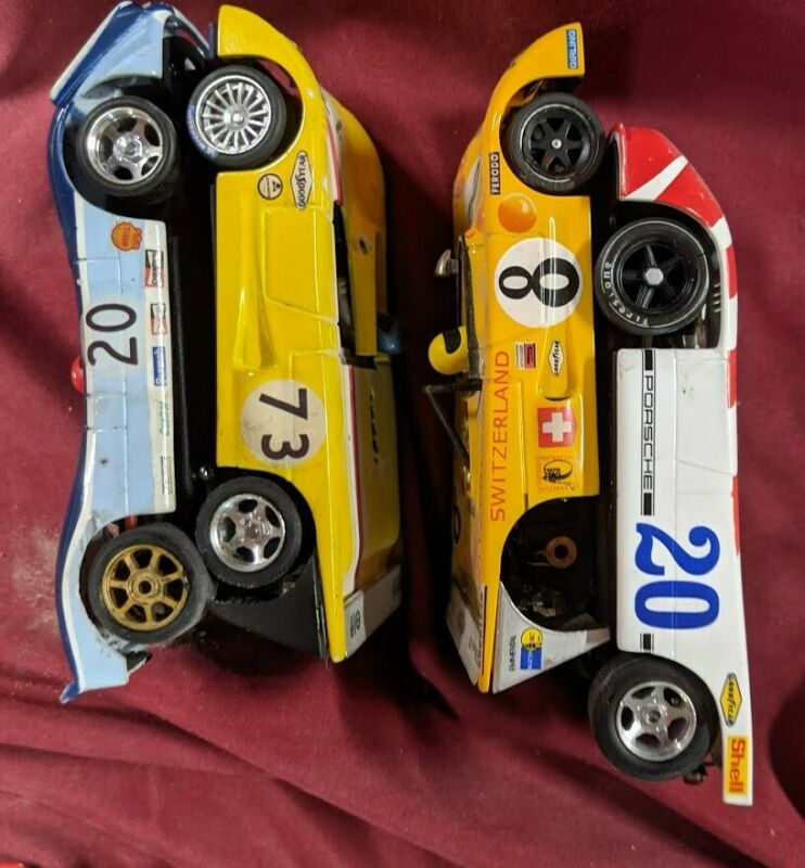 Porsche 908 -Chevron  1/32 SLOT Car Slot It  Fly  Sloter  4 car lot