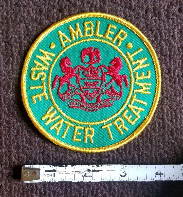 VTG Pennsylvania - Ambler WASTE WATER TREATMENT uniform Patch