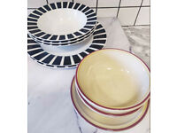 Need gone!! 2 dinner sets, mixed crockery, plates, bowls.