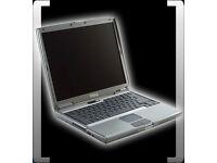 "DELL LATITUDE D510 LAPTOP, 2GB RAM. WINDOWS 7. MS OFFICE. 15"" SCREEN"
