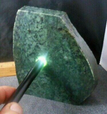 "Washington State Seamless Green Jade 1 1/4"" Slab, 4+ Pounds"