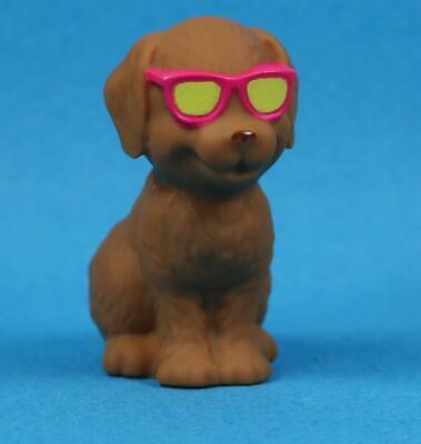 Barbie Dolphin Magic Carmel Brown Dog With Sunglasses for 1/6th Scale (Dolphin With Sunglasses)