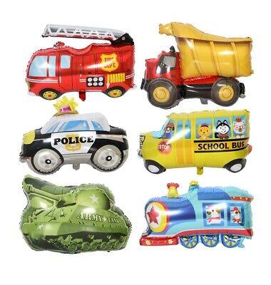Cartoon Auto Ballons Geburtstag Party Helium Dekoration Kinder Spielzeug ()
