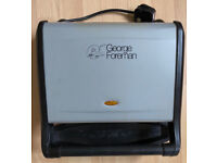 George Foreman 5-Portion Family Grill - Silver
