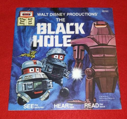 The Black Hole Read-Along Book Walt Disney Productions 1979 (No Cassette)