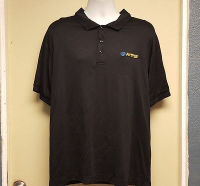 National Tire Battery Ntb Black Polo Short Sleeve Work Shirts Many Sizes