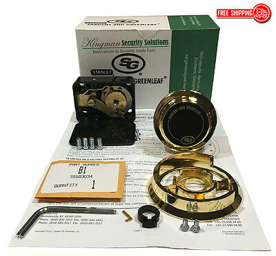 S&G - Sargent and Greenleaf 6730-102G Group 2 - Spy Proof Dial & Lock Kit - Gold