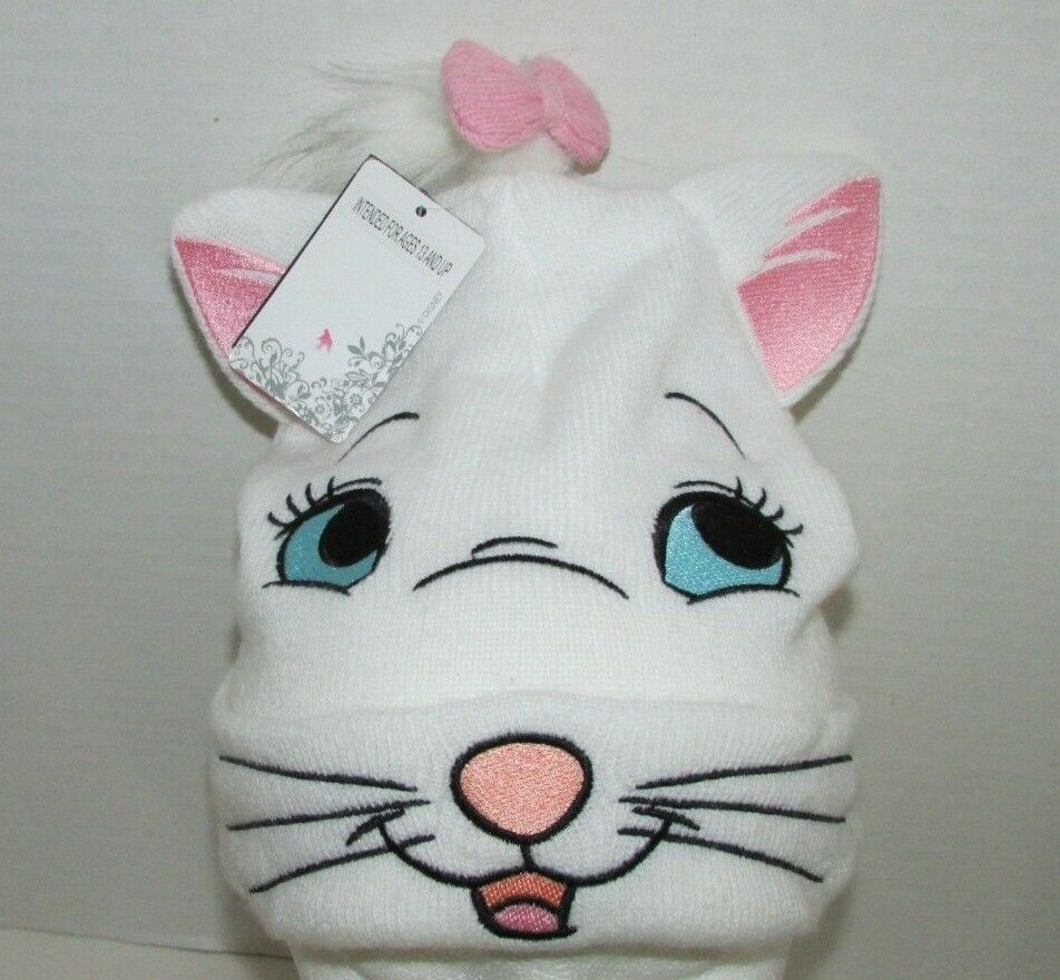 Women's Disney Marie face Aristocats NWT knit  hat Hot topic
