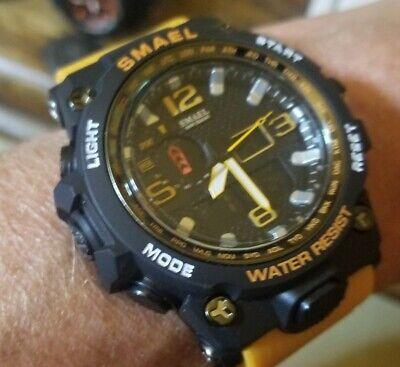 SMAEL Military Shock Men's Analog Quartz Digital Watch casio mudmaster style.