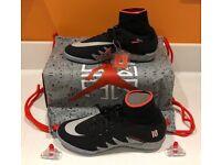 Brand New Genuine Jr Hypervenomx proximo njr tf astroturf football trainers- Size 5 UK