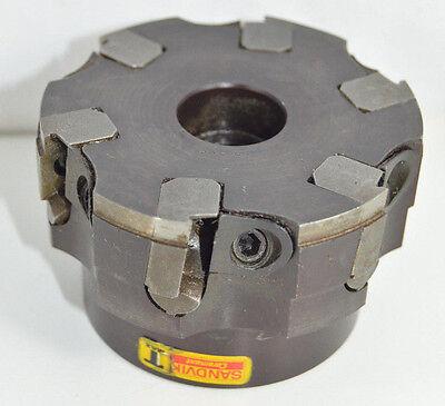 Sandvik 3.00 Carbide Insert Face Mill Tool Ra262.2-080m Uses Inserts Tpk 43p2r