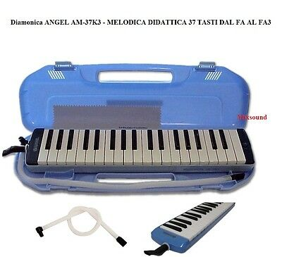 ANGEL AM37-K3 DIAMONICA MELODICA 37 TASTI c/ CUSTODIA TUBO FLESSIBILE CLAVIETTA