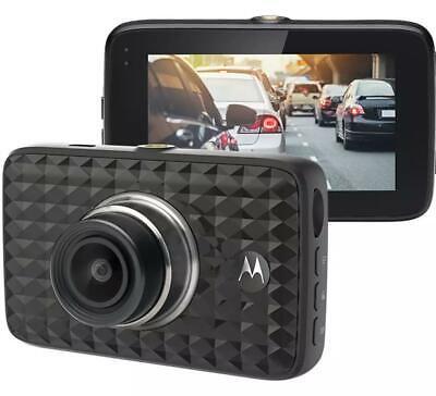 Motorola MDC300 HD Dash Cam LCD screen Loop recording G-force sensor 140 degree